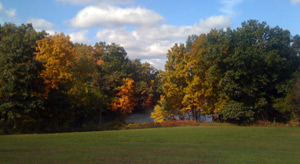 Eagle Lake at Fort Custer State Rec Area