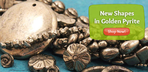New Shapes in Golden Pyrite