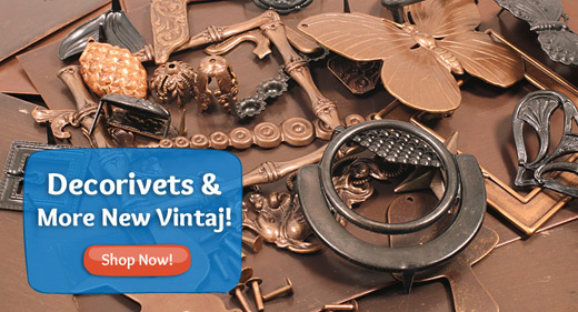 Vintaj Decorivets and more