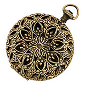 Filigree Time Piece Locket