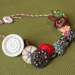 Payton's Vintage Button Necklace