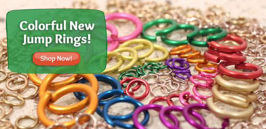 Colorful New Jump Rings!