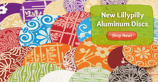 New Lillypilly aluminum discs