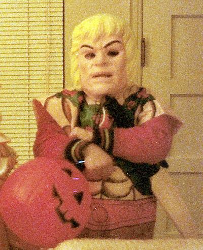 Steve as He-Man
