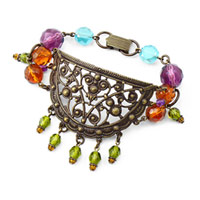 Glimmering Glass Bracelet