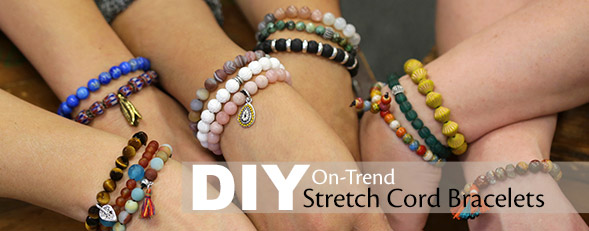 Make A Stretch Bracelet