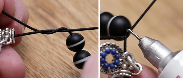 Make A Stretch Bracelet Technique Lima Beads
