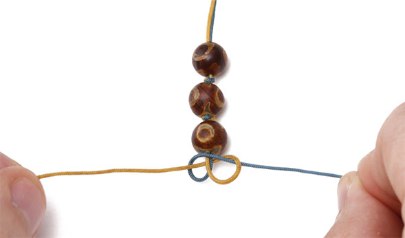 Using the Snake Knot (Technique) - Lima Beads