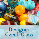 Designer Czech Glass