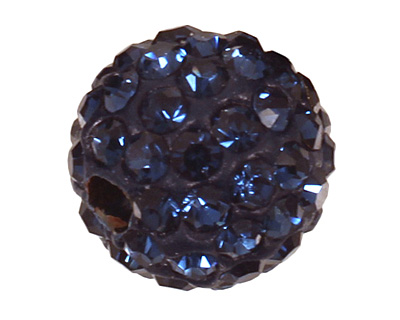 Montana Blue Pave Round 8mm