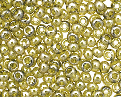 TOHO Gold Lustered Green Tea Round 11/0 Seed Bead