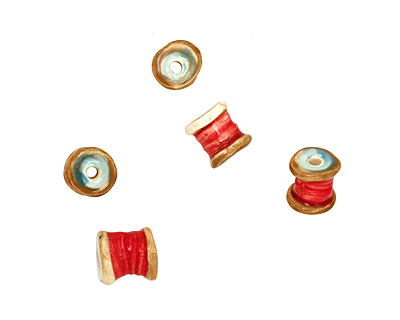 Jangles Ceramic Small Thread 12-14x11-12mm