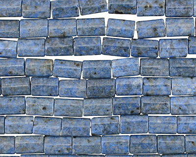 Denim Lapis Thin Pillow 12x8mm