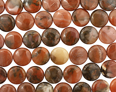 Chalcedite Puff Coin 20mm