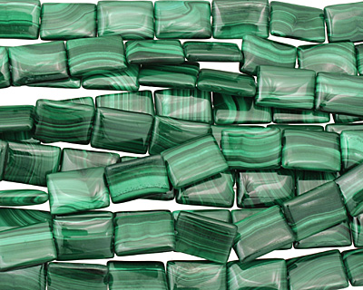 Malachite Thin Pillow 18x13mm