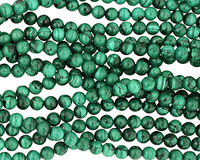 Malachite (light) Round 8mm