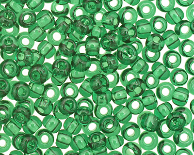 TOHO Transparent Grass Green Round 11/0 Seed Bead