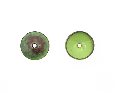 C-Koop Enameled Metal Lime Disc 3-4x18-20mm
