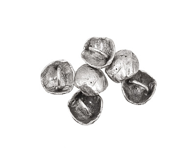 Rustic Charms Sterling Silver Button 16mm