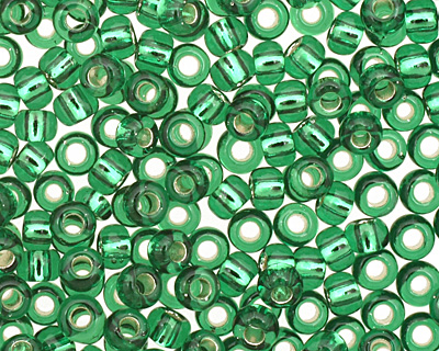 TOHO Grass Green (with Silver Lining) Round 11/0 Seed Bead