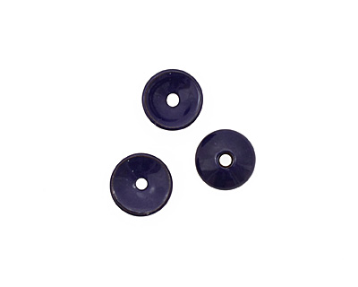 C-Koop Enameled Metal Dark Blue Chip 3-4x12-13mm