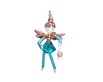 Glass Garden Blue Zircon Fairy Kit