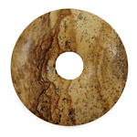 Picture Jasper Donut 45mm
