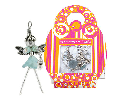 Glass Garden Dusty Blue Fairy Kit