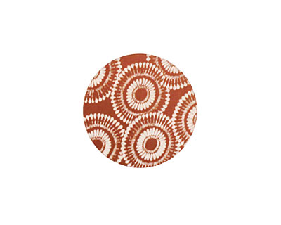 Lillypilly Bronze Dandelion Anodized Aluminum Disc 19mm, 24 gauge