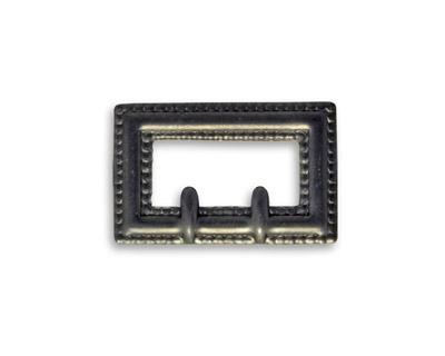 Vintaj Arte Metal Rectangle Buckle Decorivet 24x14.5mm