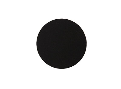 Lillypilly Black Anodized Aluminum Disc 19mm, 22 gauge