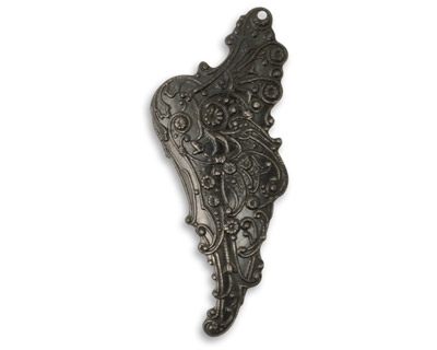 Vintaj Arte Metal Mythical Wing Right Pendant 23x54mm