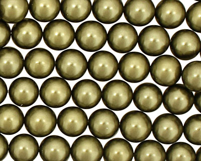 Olive Shell Pearl Round 8mm