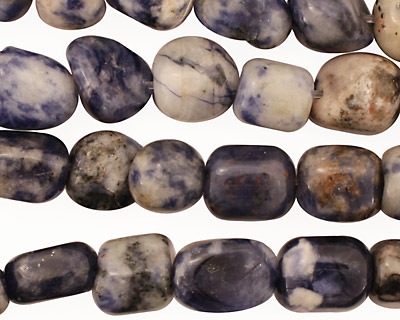 Dumortierite Tumbled Nugget 4-12x8-9mm