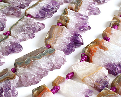 Amethyst Slice 12-32x18-37mm