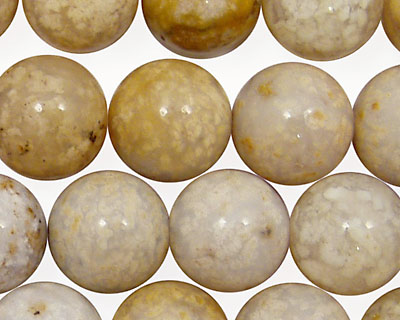 Oregon Snakeskin Agate Round 14mm