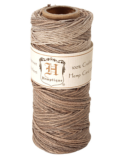 Earthy Hemp Twine 20 lb, 205 ft