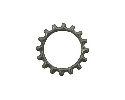 C-Koop Enameled Metal Steel Gray Open Gear 19mm