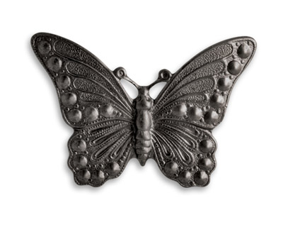 Vintaj Arte Metal Marcasite Butterfly Decorivet 40x30mm