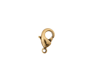 Antique Gold (plated) Lobster Clasp 7mm