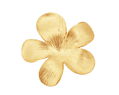 Ezel Findings Gold (plated) 5 Petal Flower Link 27mm