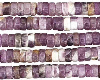 Dogtooth Amethyst Heishi 6mm
