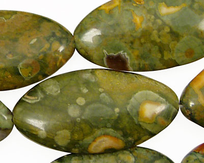 Rhyolite Horse Eye 40x20mm