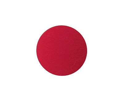 Lillypilly Red Anodized Aluminum Disc 19mm, 24 gauge