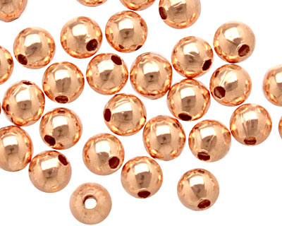 TierraCast Copper Round 4mm