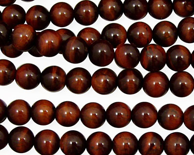 Red Tiger Eye Round 6mm