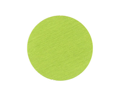 Lillypilly Lime Green Anodized Aluminum Disc 25mm, 24 gauge