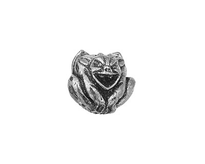 Green Girl Pewter Gargoyle 15x16mm