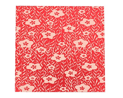 Lillypilly Red Flower Garden Anodized Aluminum 3