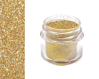 Gold Tone Microfine Opaque Glitter 1/4 oz.